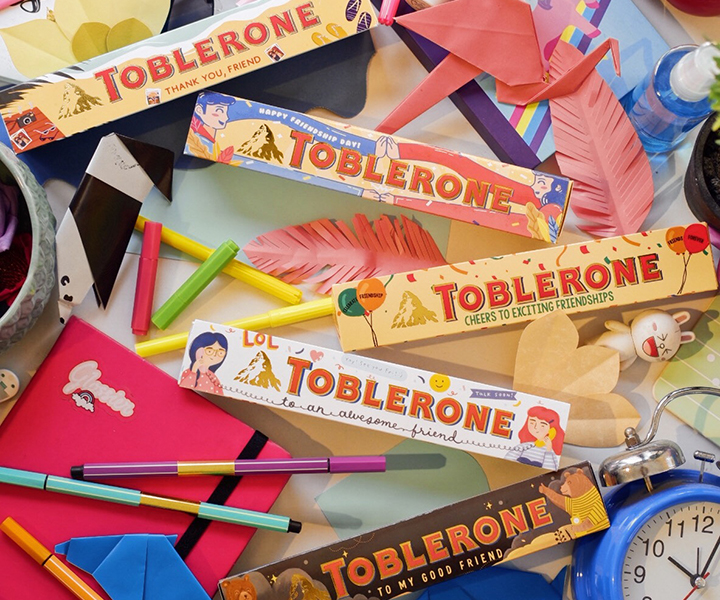 Be More Imaginative and Award Your Friends This Friendship Day with Toblerone