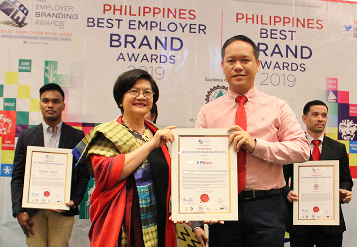 PSBank conferred Philippines Best Employer Brand Award for the 2nd time