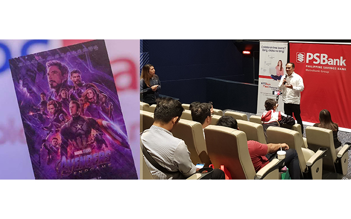 PSBank treats valued clients to an exclusive screening of Avengers: Endgame
