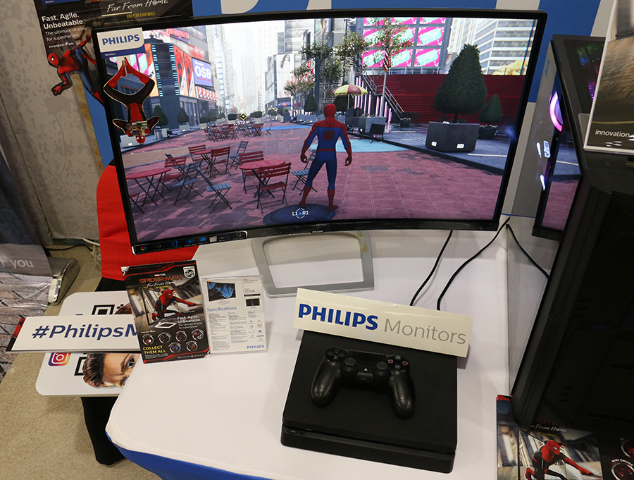 In partnership with Sony Pictures Entertainment, leading display brand Philips Monitors brings the web-slinging superhero to the big screen.