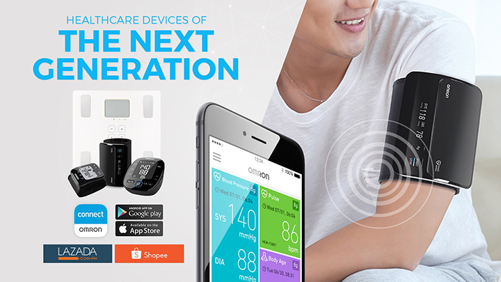 OMRON Healthcare launches new generation of connectivity devices in PH