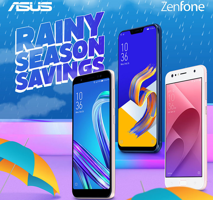 "ASUS Philippines pours in ""Rainy Season Savings"" with Zenfone prices!"