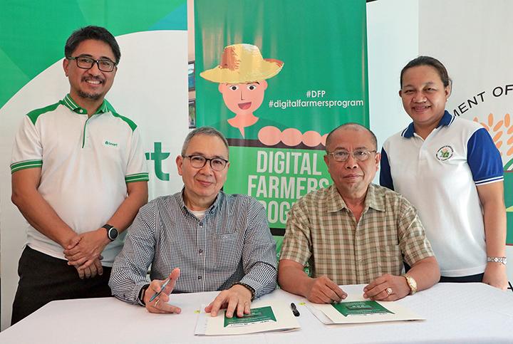 DA training arm, Smart team up to help farmers ripe for innovation