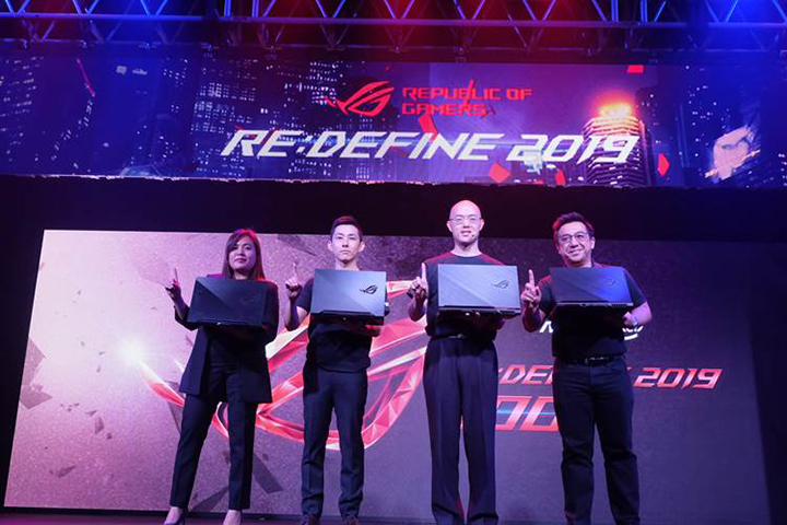 ASUS enters a new dawn with the RE:DEFINE 2019 Grand Launch of the new ROG Laptop Lineup