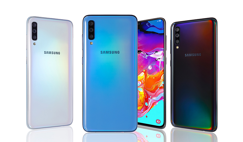 Capture, Connect and Conquer with the New Samsung Galaxy A70