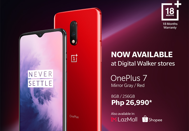 Digital Walker Launches OnePlus 7 for Sale