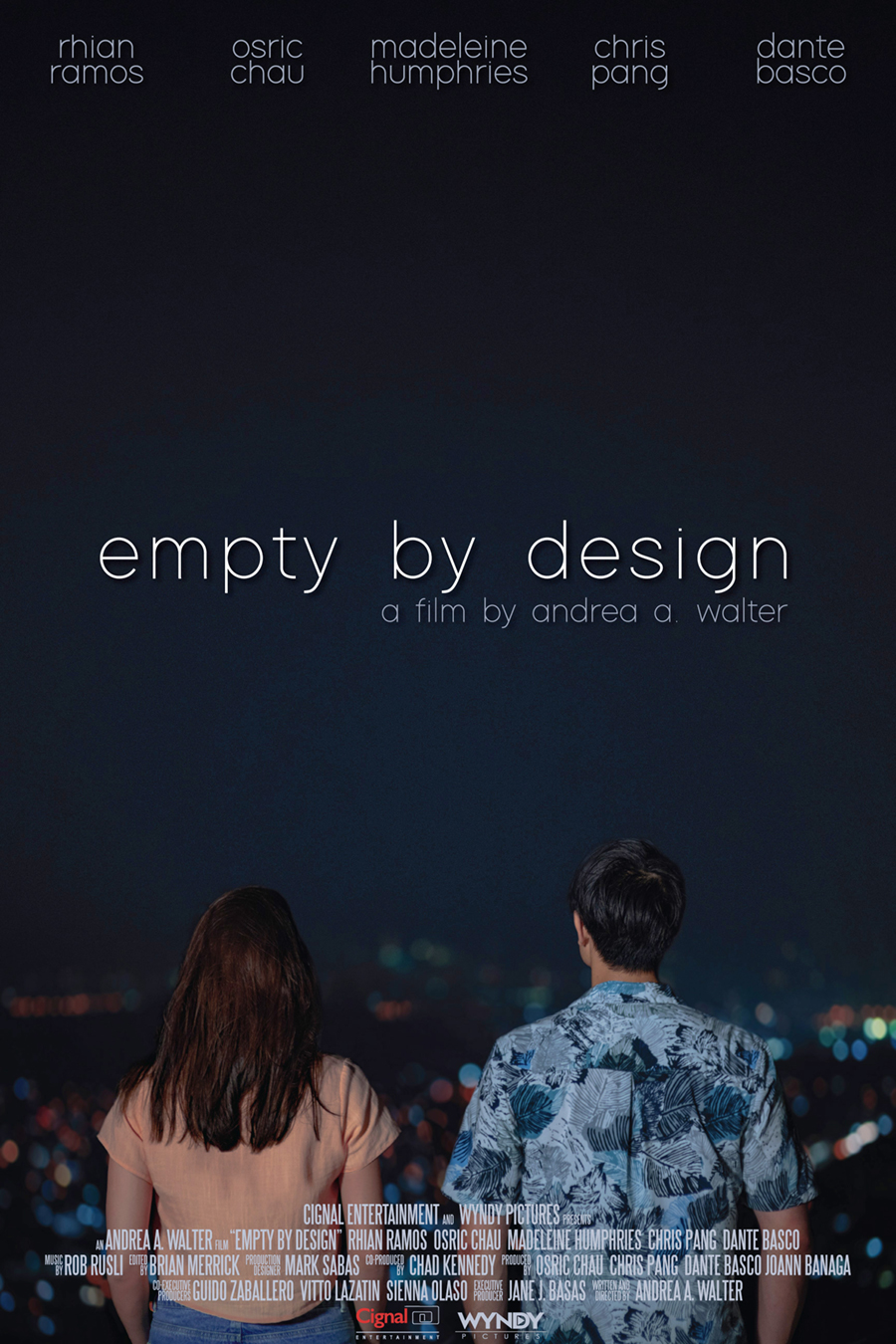 Empty be Design poster