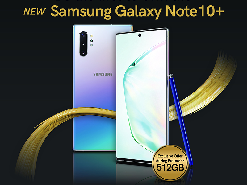 Smart kicks off pre-orders for the next level powerphone: Samsung Galaxy Note 10 Series