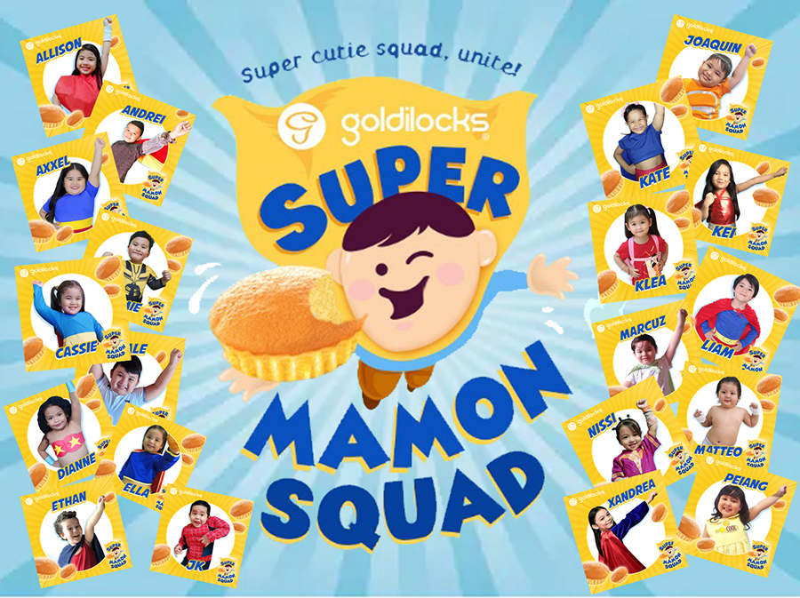 These 20 kids are the 2019 Goldilocks Super Mamon Squad Contest Winners