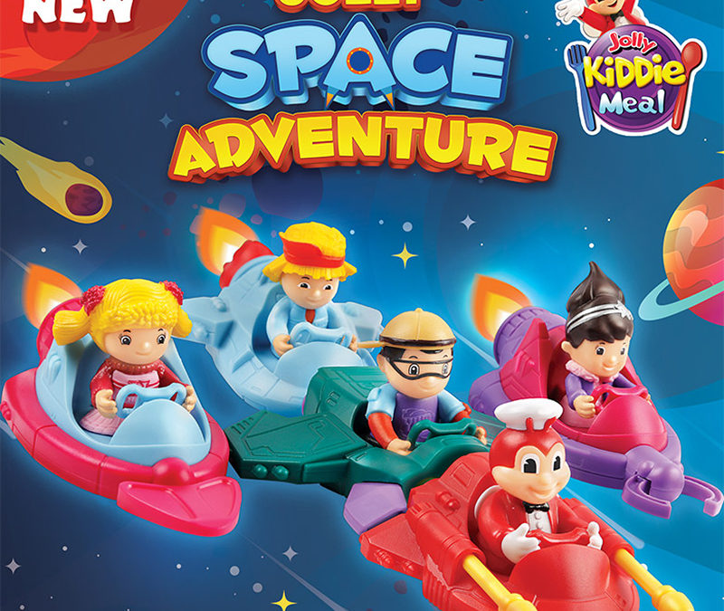 Journey to different galaxies with the Jollibee's Joly Space Adventure toys