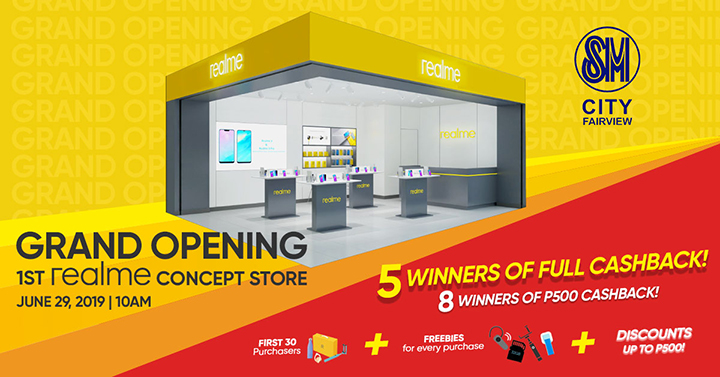 Realme to Open First Concept Store at SM City Fairview