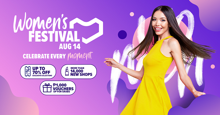 Lazada Philippines Launches Its 2nd Women's Festival with Saab Magalona, Camille Co, and Vern & Verniece to Capture the Millions of Desires of All Kinds of Women