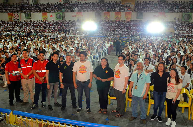 Smart, PRC foster disaster preparedness among UC students