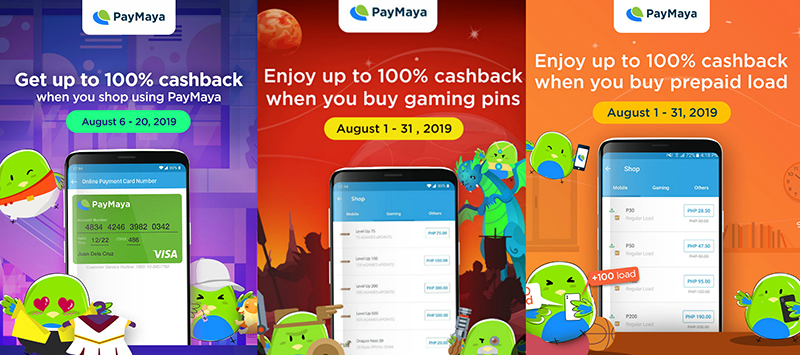 Chase the rainy day blues away with exciting perks from PayMaya this August!