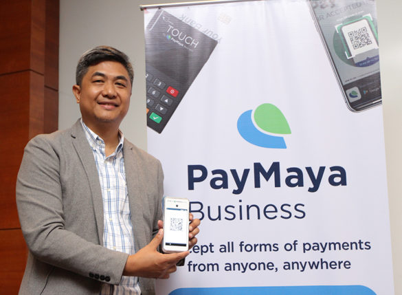 PayMaya expands its cashless ecosystem in Cebu. In the photo: Mar Lazaro, Director and Head of Enterprise Business of PayMaya Philippines.
