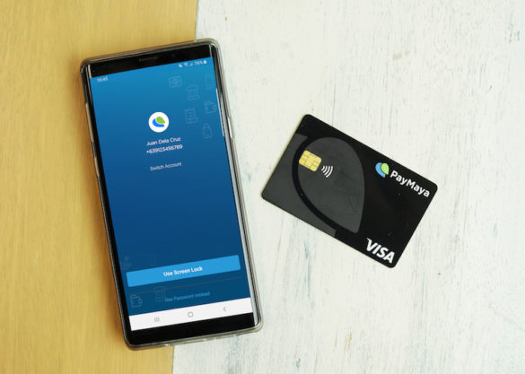 The new PayMaya card is one of the first in the world to feature a minimalist black design.
