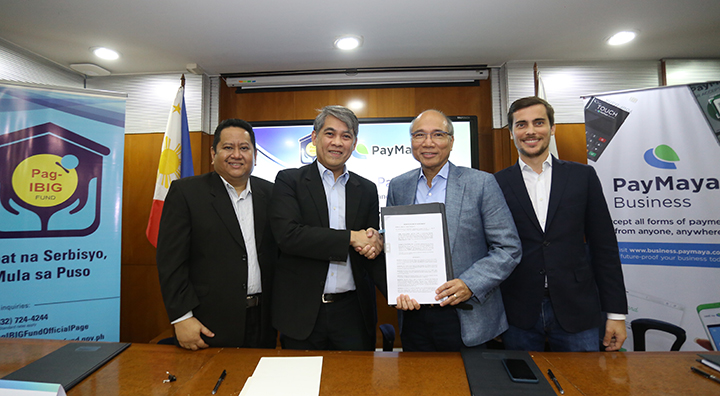 Pag-IBIG Fund taps PayMaya to offer convenient digital payments to members nationwide