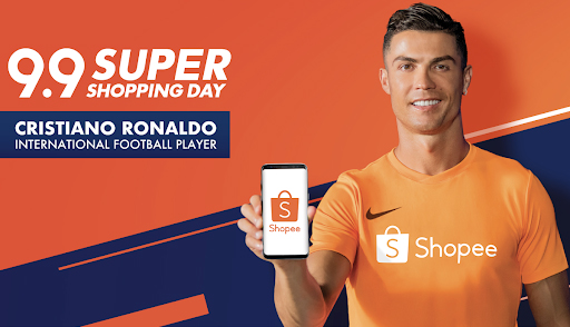 Cristiano Ronaldo to join Shopee in a wide range of initiatives, starting with 9.9 Super Shopping Day.