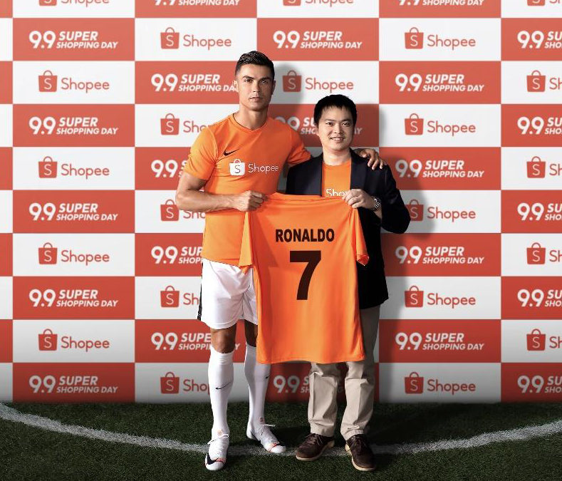 Shopee Announces Global Superstar Cristiano Ronaldo  as its Latest Brand Ambassador