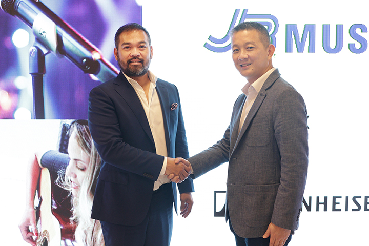 Sennheiser strengthens presence in PH, seals partnership with JB Music