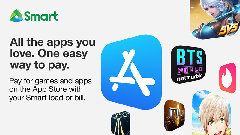 A first in the Philippines: Smart Carrier Billing now available for App Store, Apple Music & iTunes