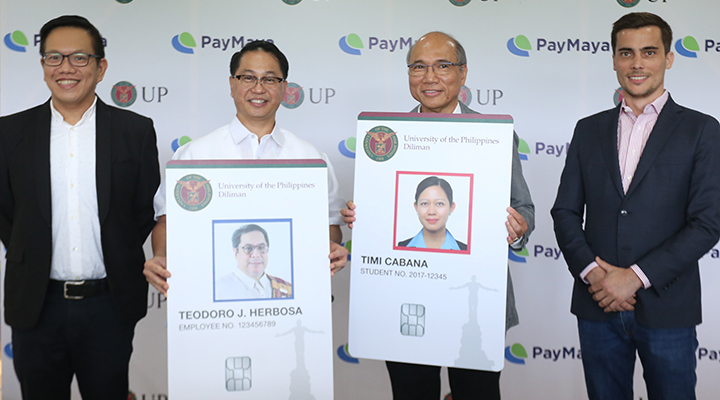 Cashless ecosystems to be deployed in UP campuses nationwide: PayMaya powers next-generation ID of University of the Philippines