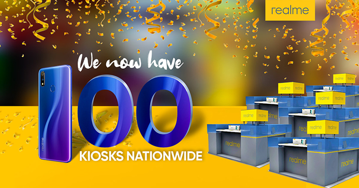 Realme Philippines opens 100th kiosk, eyes 100 more before end-2019