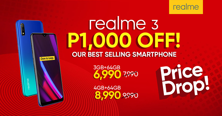 Price Drop Alert! Best-selling smartphone Realme 3 offered with huge markdown