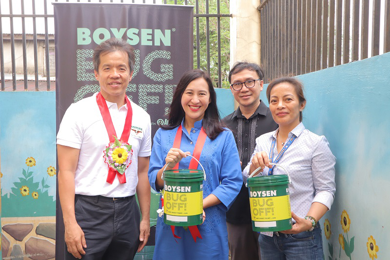 Boysen partners with QC government, DepEd for anti-dengue drive