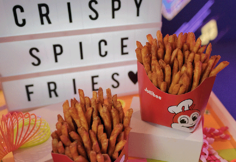 Liza Soberano spices things up with Jollibee and the new Crispy Spice Fries