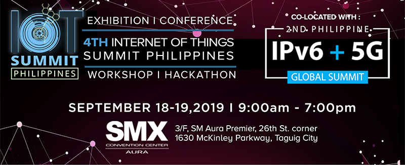 IPv6 and 5G technology to feature in the 4th Internet of Things Summit 2019