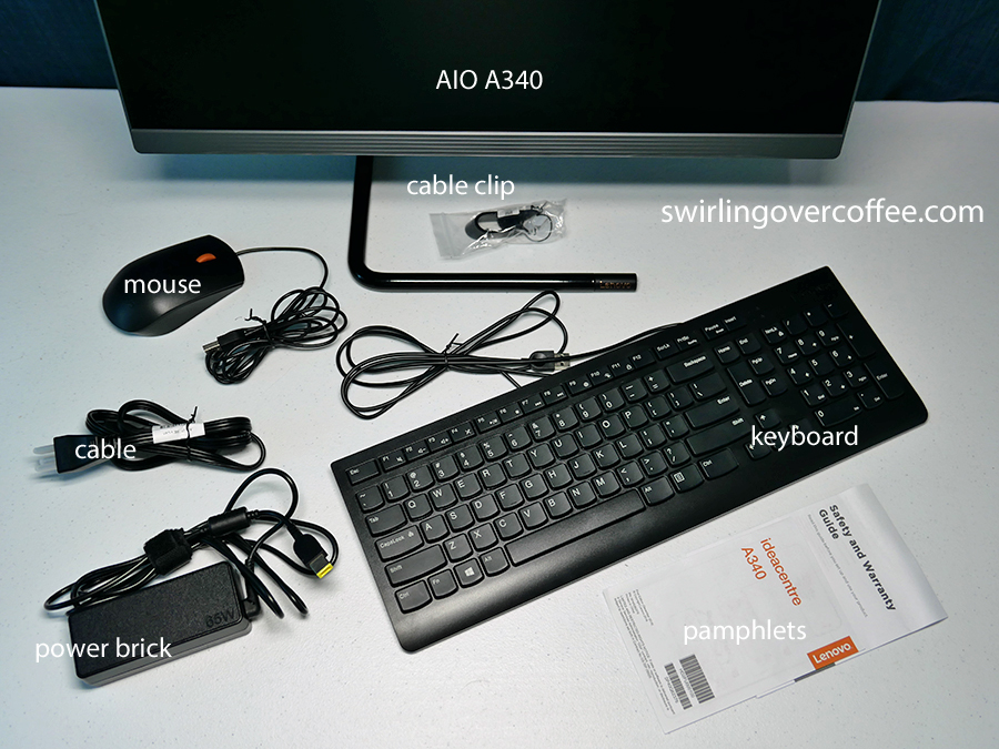 Lenovo IdeaCentre AIO A340 Unboxing