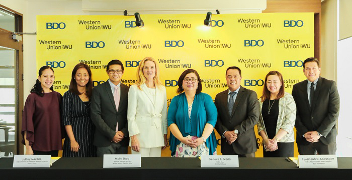 Banco de Oro (BDO) nows offers Cash Pick-up of Western Union money transfers at more than 1,100 BDO branches nationwide.