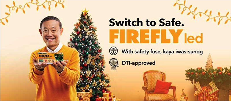 Firefly LED and Jose Mari Chan aims to provide brighter holidays in the Philippines