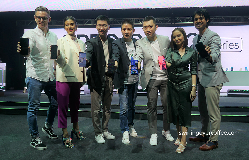 OPPO Executives and brand ambassadors at the launch of the OPPO Reno2 series