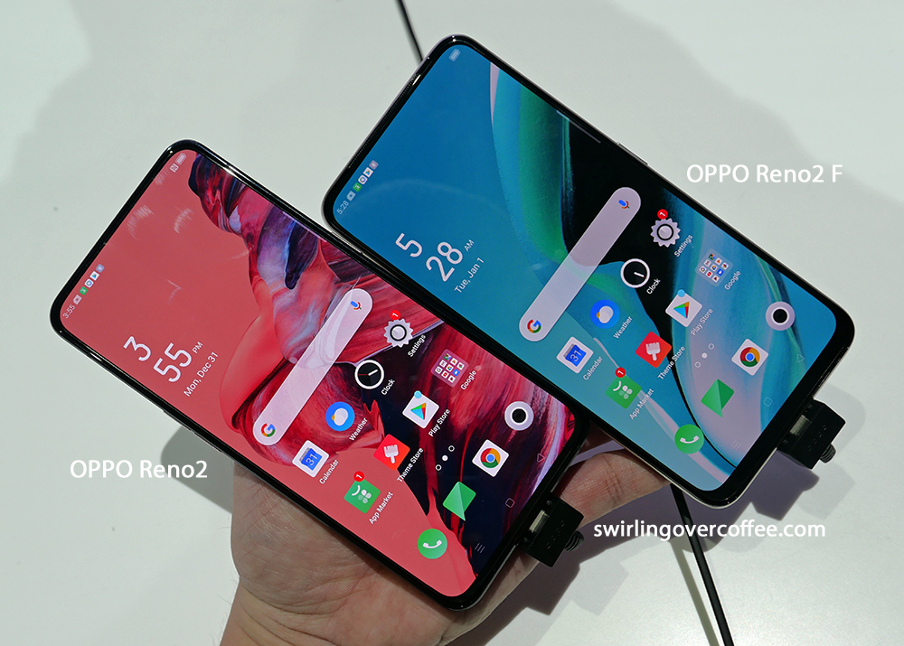 OPPO Reno2 and OPPO Ren2 F are now available