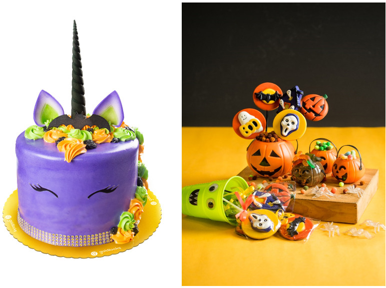 Enjoy these Goldilocks Halloween-themed treats