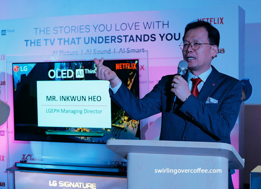 LG Philippines Managing Director Inkwun Heo