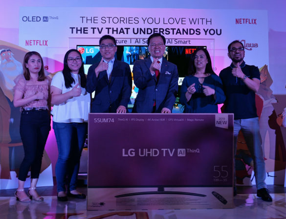 LG donates LG TV to Animation Council of the Philippines