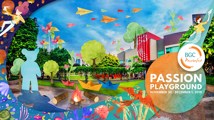 Come to Passionfest, BGC's yearly fiesta, from Nov 30 to Dec 1
