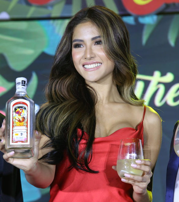 Sanya Lopez is the new Ginebra San Miguel Calendar Girl 2020