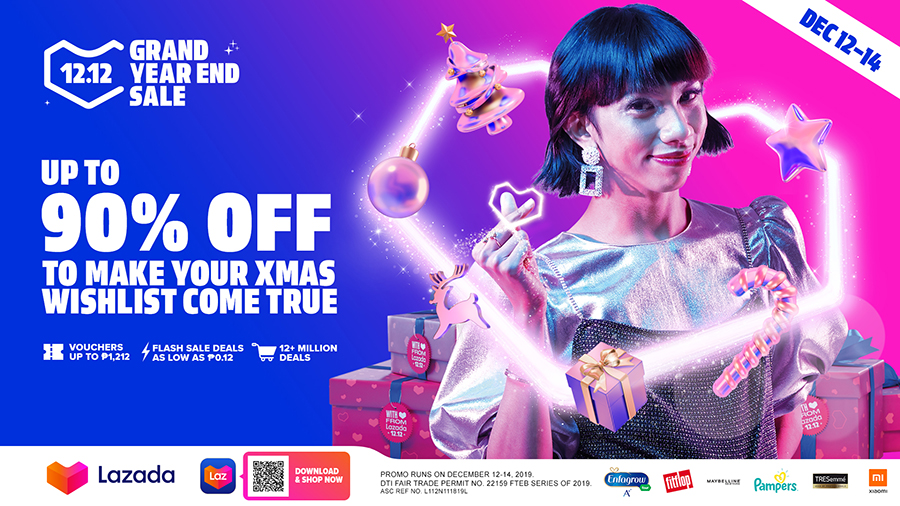 Make Your Christmas Wishlist Come True With Lazada's 12.12 Grand Year End Sale