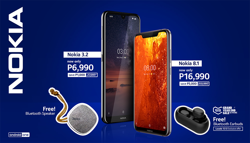 Nokia 8.1 and Nokia 3.2 get price cuts and come with freebies from Dec 12-14