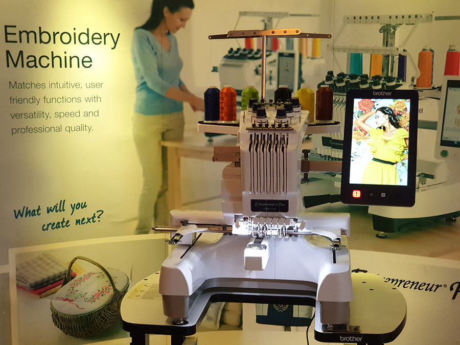 Brother Philippines Offers New Possibilities to Business Owners and Aspiring Entrepreneurs With PR Embroidery Machines