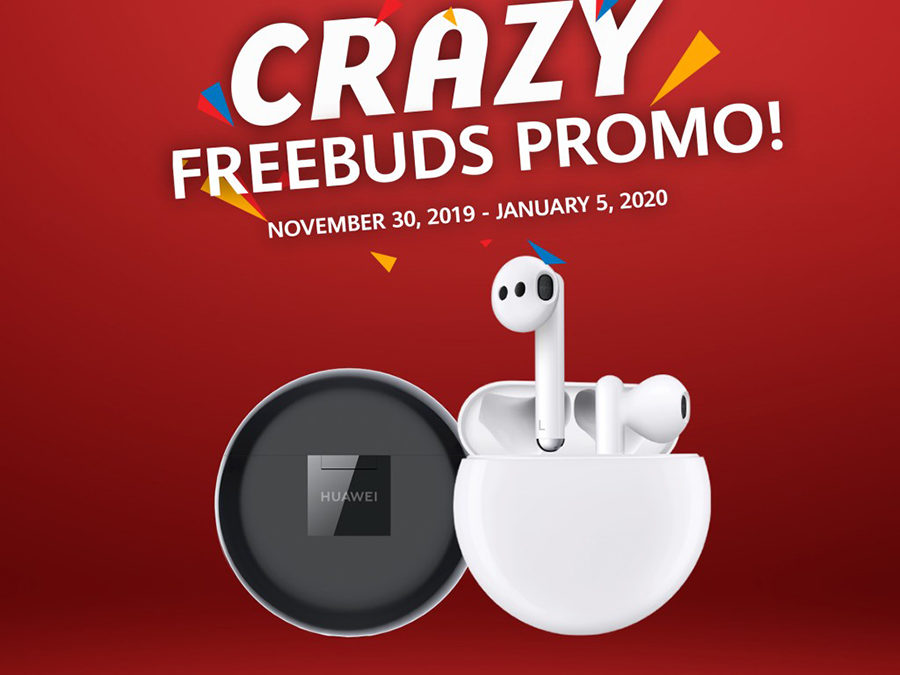 Promo – Buy Select Huawei Phones to Get Php 2,000 off on Huawei FreeBuds 3