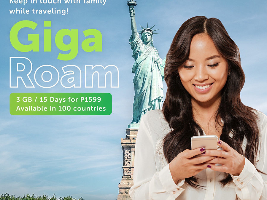 Enjoy a Worry-Free Holiday Getaway With Discounted Smart Gigaroam Until January 6