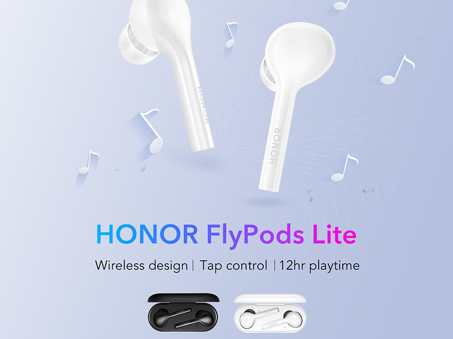HONOR Dares You to Experience the Most Affordable True Wireless Earbuds with ANC