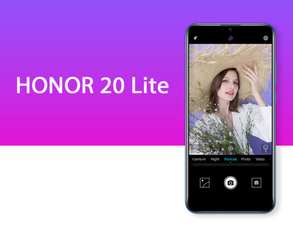 The Honor 20 Lite has a 32MP selfie camera and 128GB storage for only P9,990