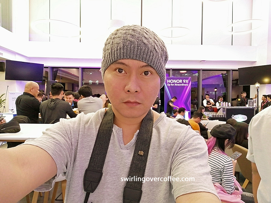 Honor 9X 16MP front camera sample