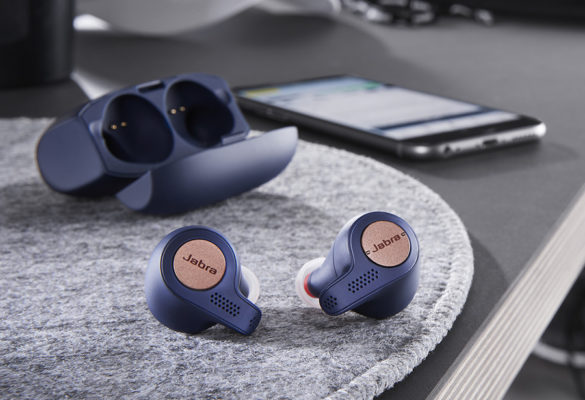 Hear Ye: Jabra Elite Active 65t is the best-in-class true wireless earbuds designed for active users who want a true wireless voice and music experience while working out. The earbuds have enhanced grip through special coating and integrated accelerometer for tracking features. Get a chance to win an iPhone 11 Pro and other exciting prizes this holiday season with a purchase of the Jabra Elite Active 65t.